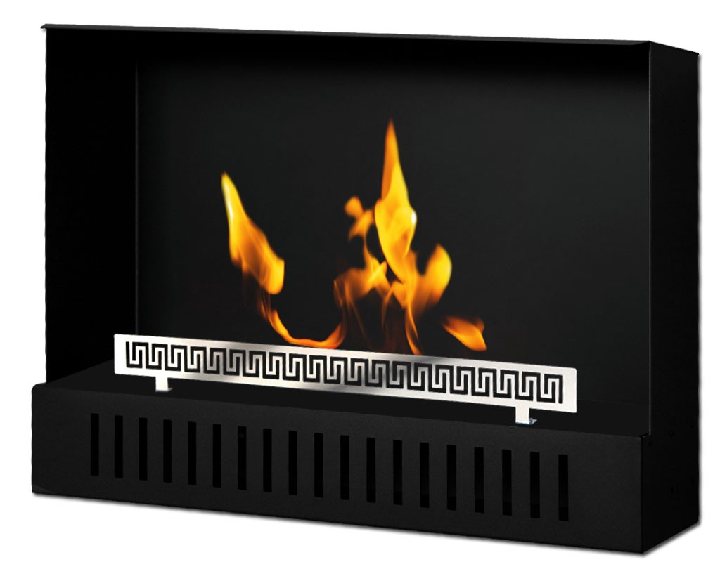Wall hanging Bio fireplaces without chimney STONE