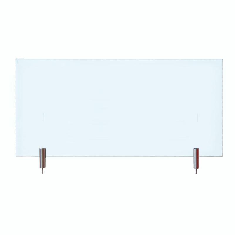 Echtglas klar 430x200