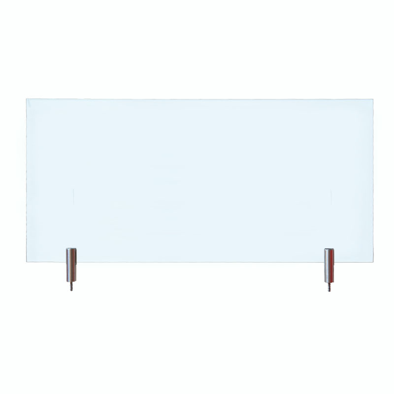 Safety glass clear 430x200