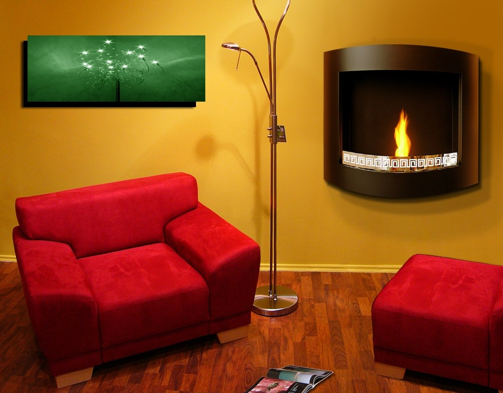 Fireplace without chimney AF-01-2B