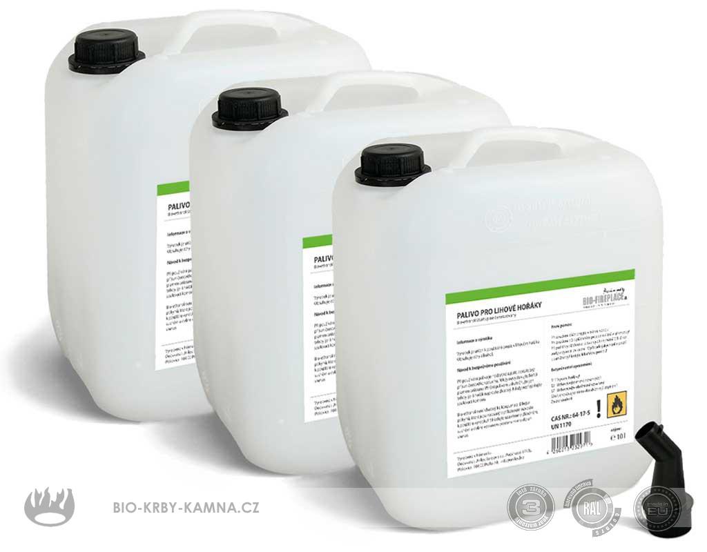 30 л органический Алкоголь (Био-этанол, био-алкоголь, Биогель, технический денатурированный спирт)