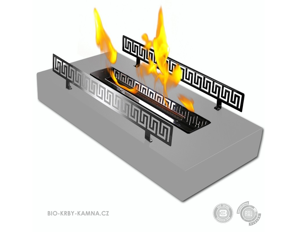 Fireplace without chimney BIO-04