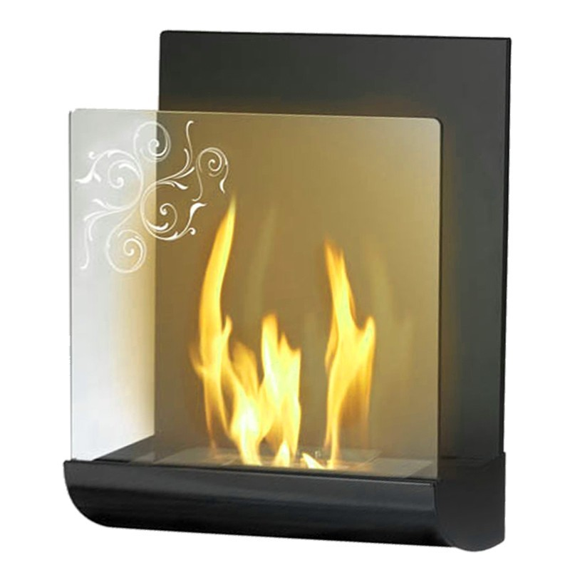 Fireplace without chimney BOHEMA BIO-09B