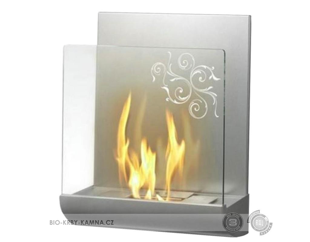 Fireplace without chimney DaVinci