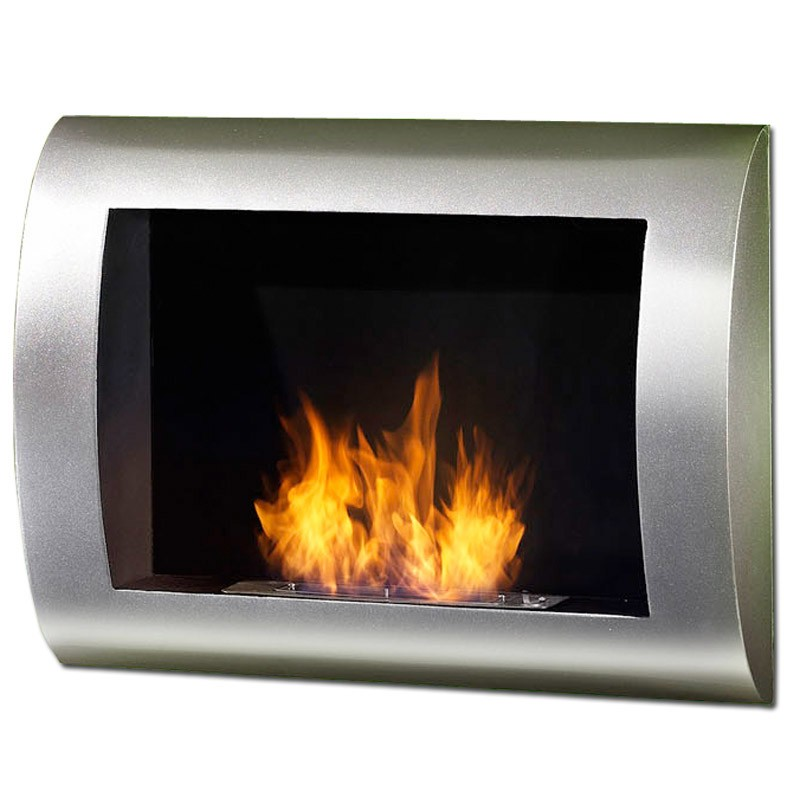Wall hanging Bio fireplaces without chimney BIO-02S