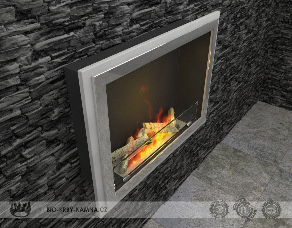 Fireplace without chimney ART-02
