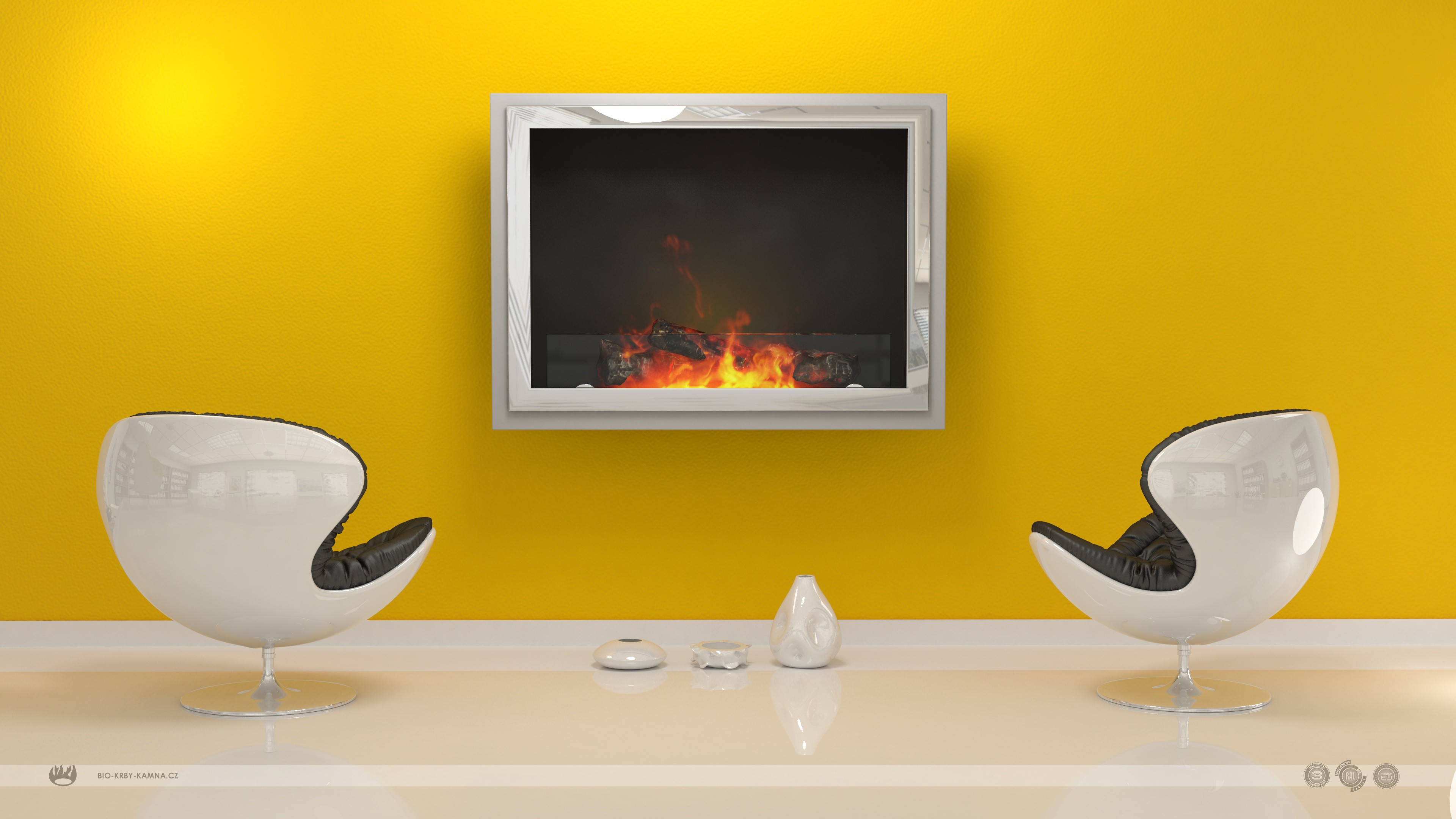 bio ethanol p in ventless inch wall recessed cambridge fireplace mounted built