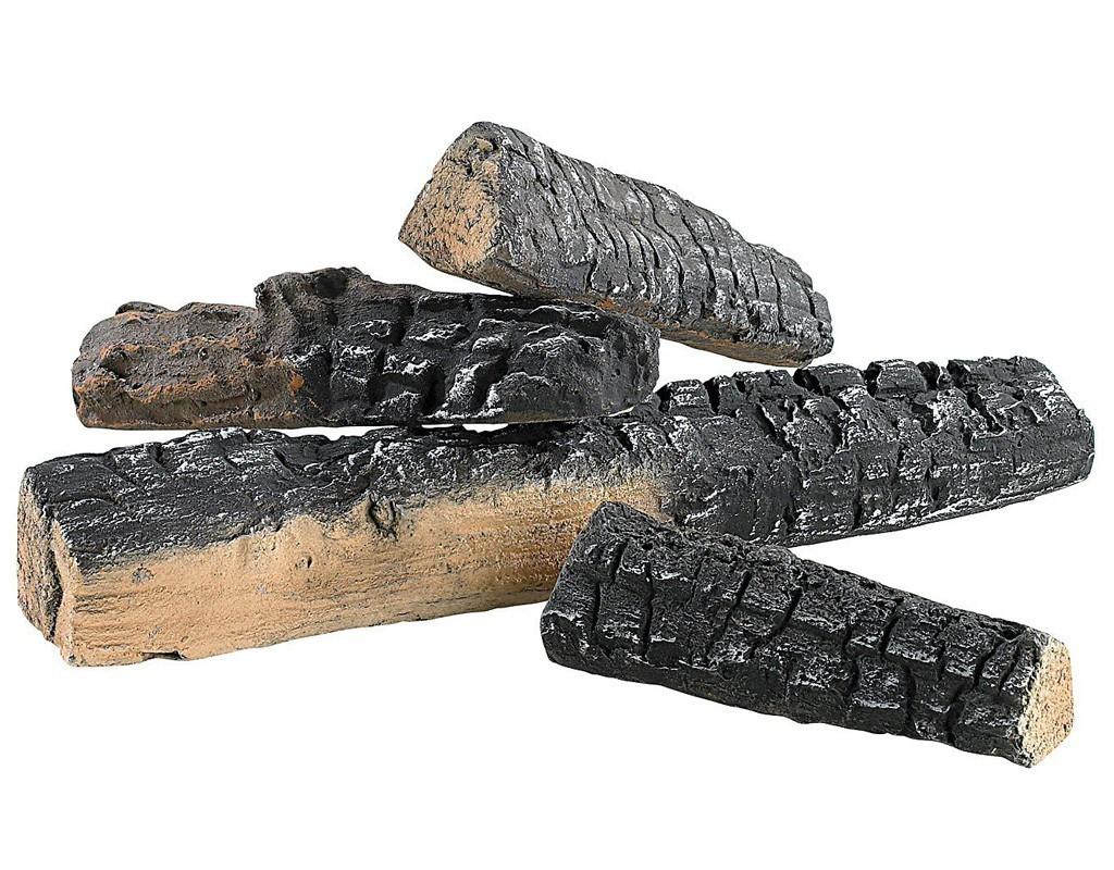 Kleine Keramik Holz-Fichte