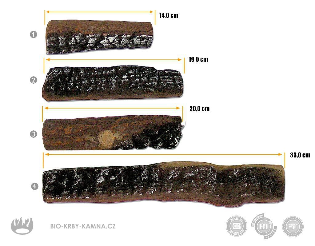Keramické smrkové dřevo malé