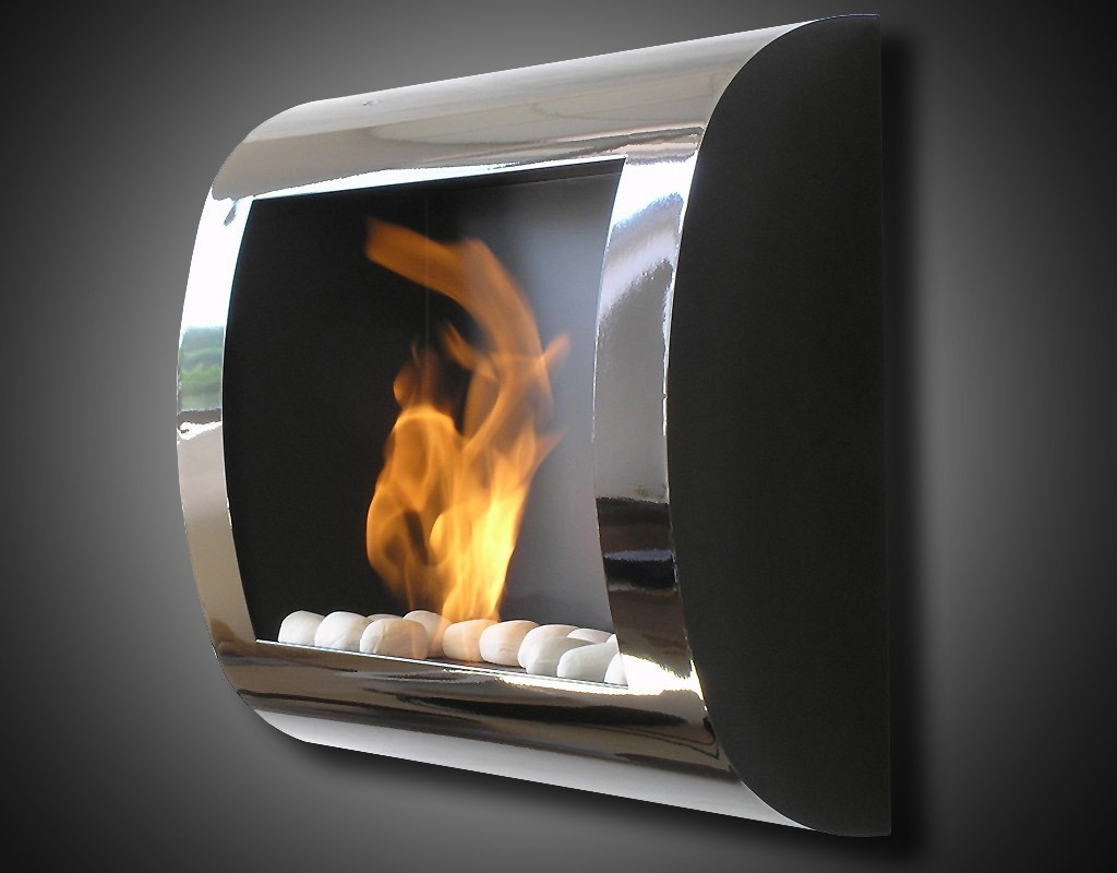 Fireplace without chimney BIO-02B