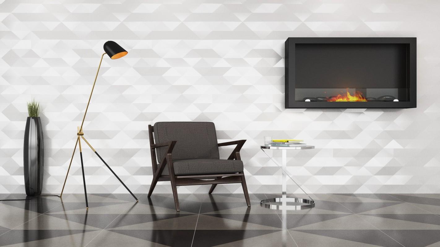 Moderní byt, bytové doplňky, dekorace do bytu bez komínu BOHEMA AF-61