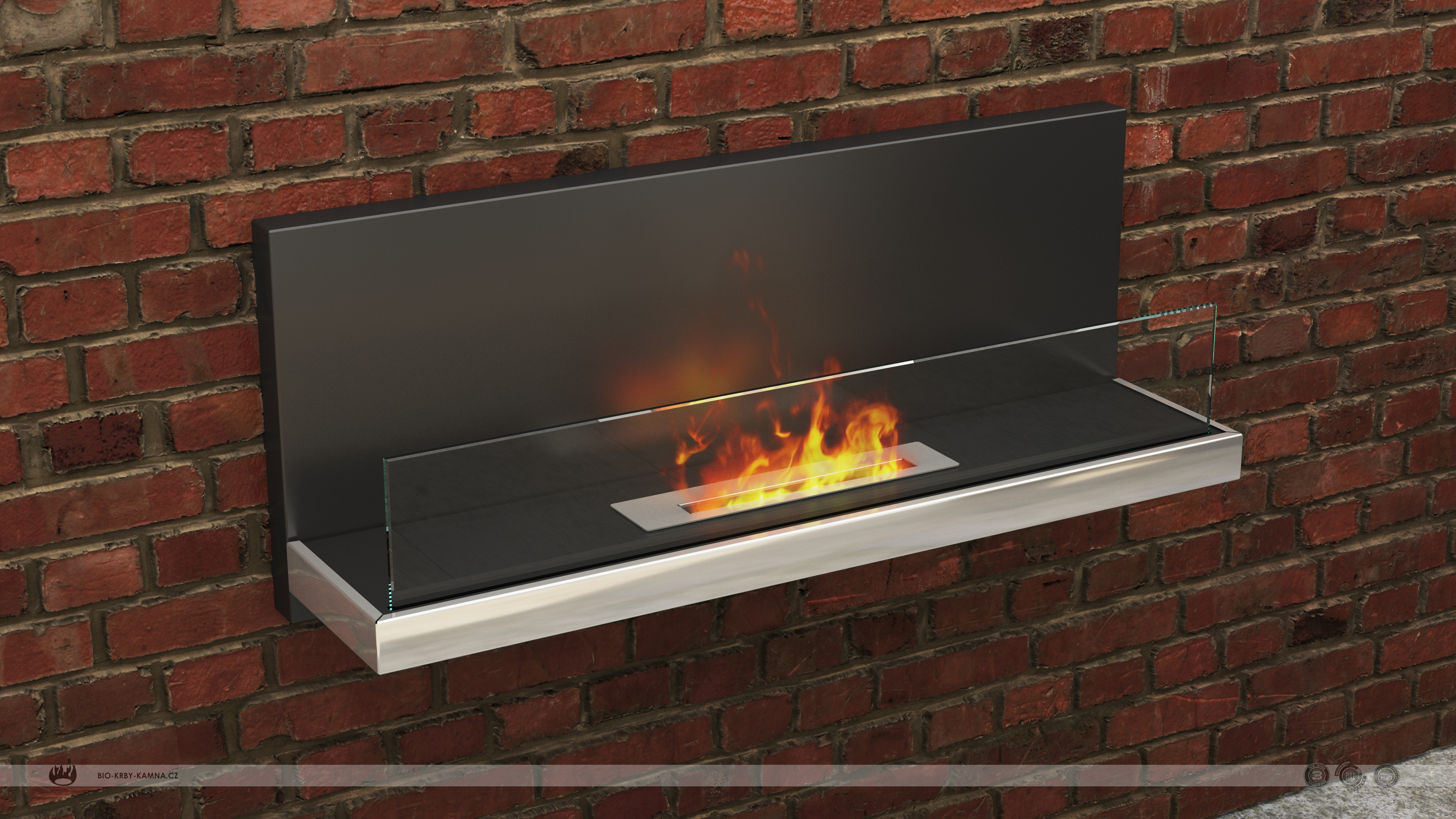 Fireplace without chimney AF-64