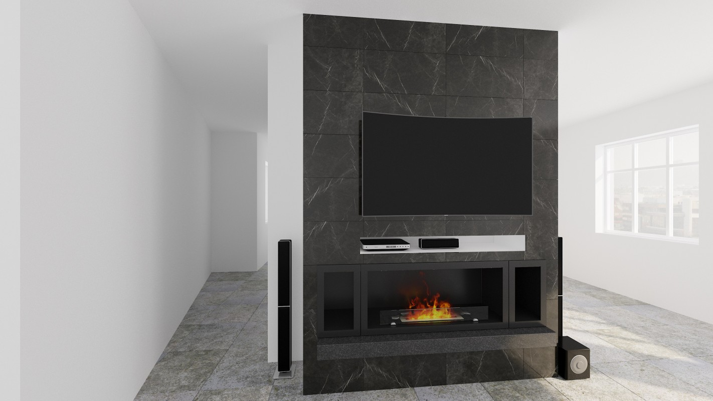 Wall hanging Bio fireplaces without chimney AF-61