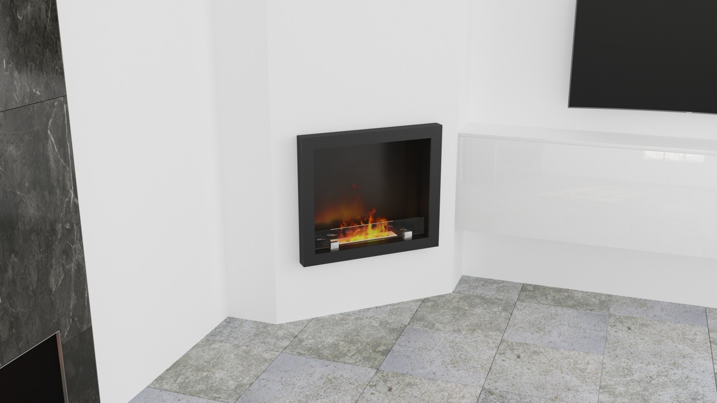 Corner Bio Fireplaces without chimney AF-66
