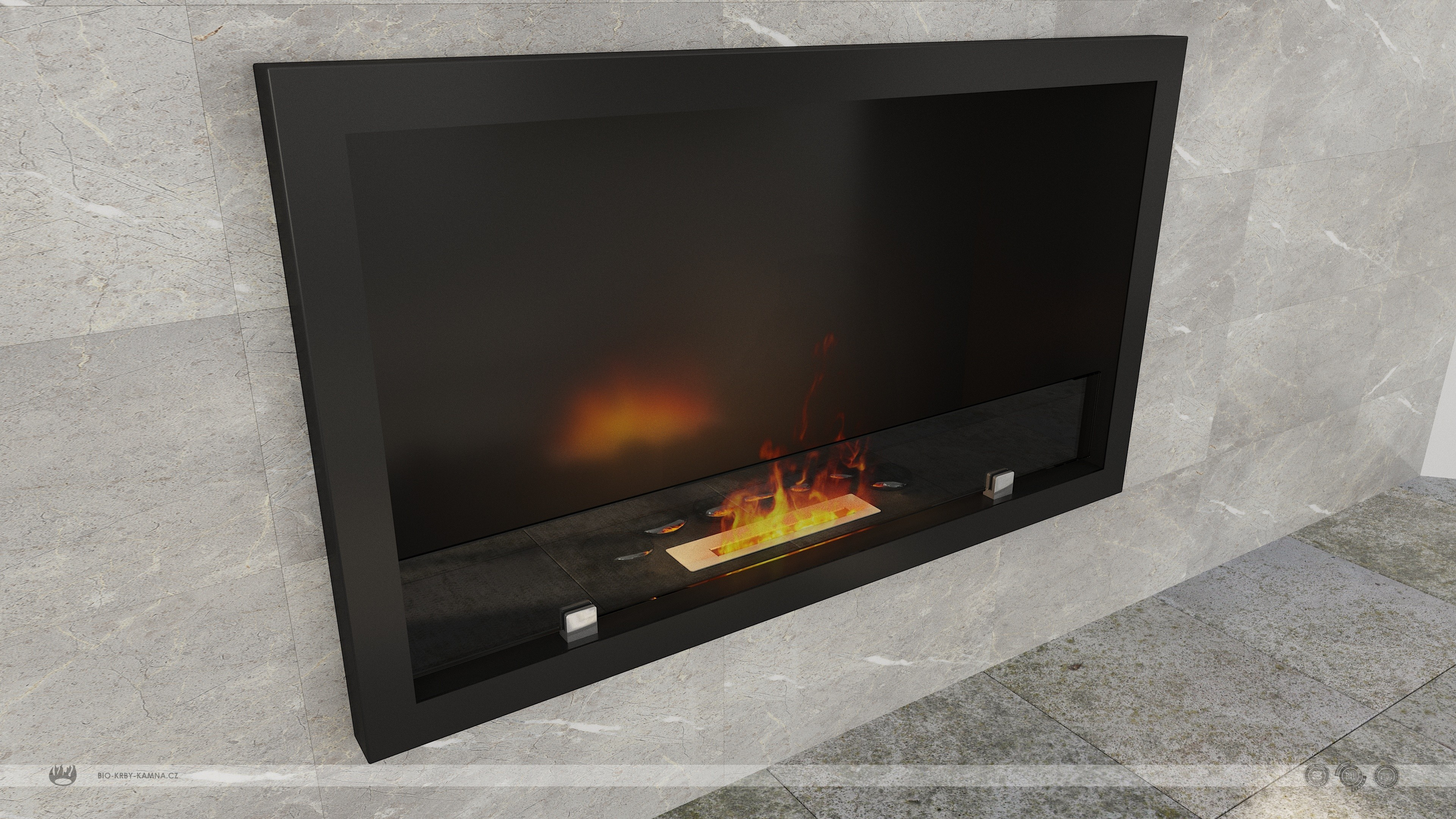 Fireplace without chimney AF-68