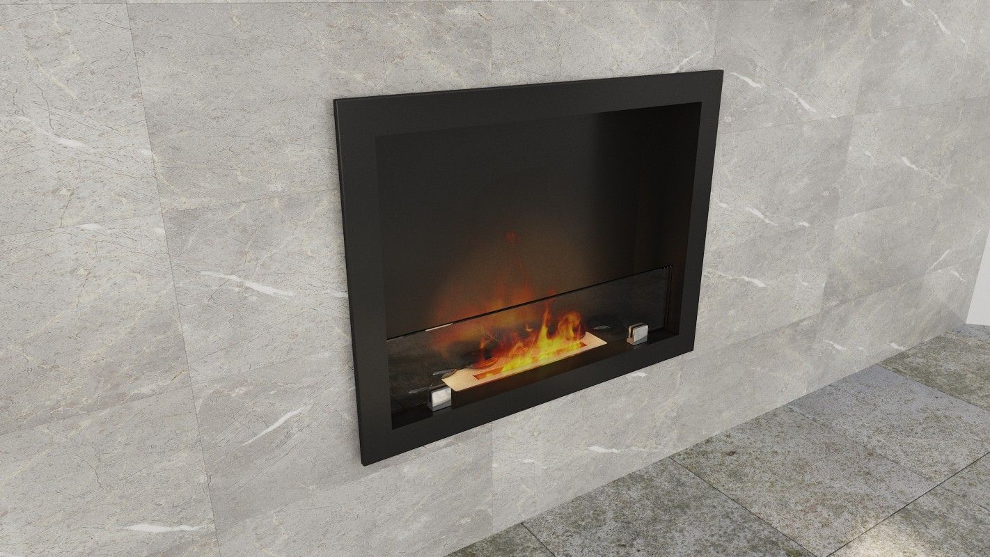 Wall hanging Bio fireplaces without chimney AF-69