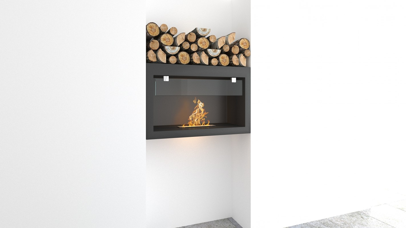 Wall hanging Bio fireplaces without chimney AF-72
