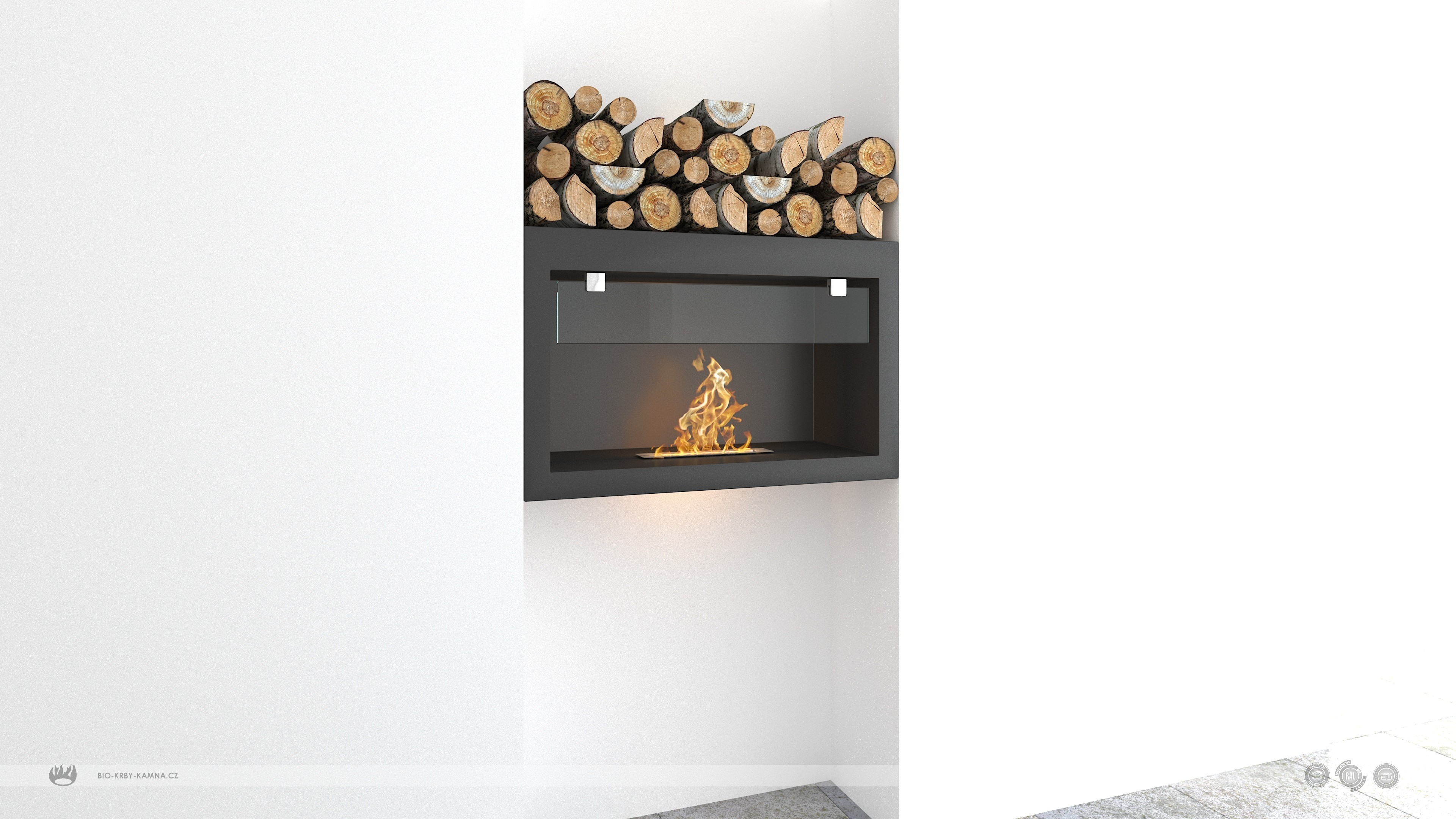 Fireplace without chimney AF-72
