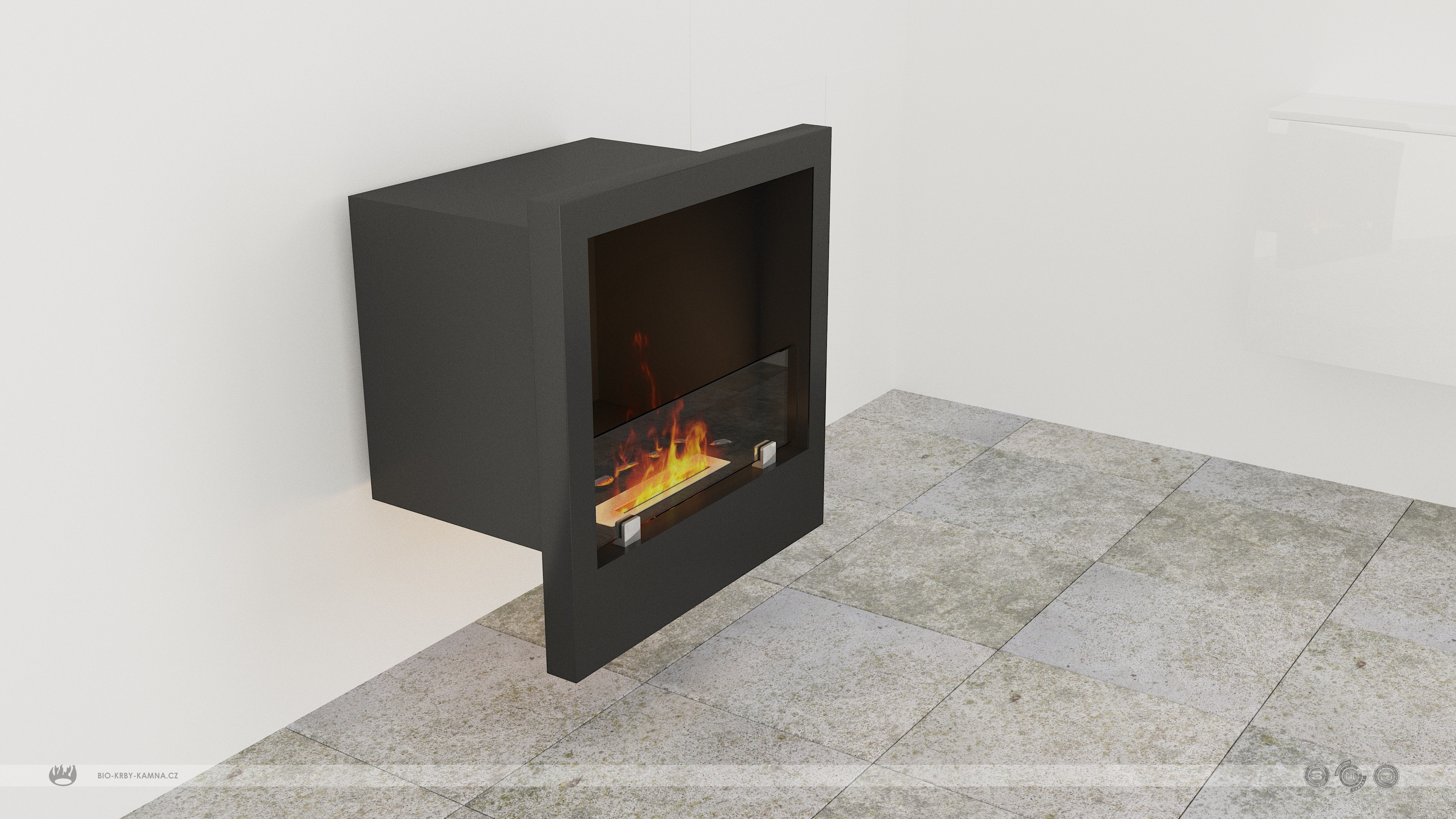 Fireplace without chimney AF-75