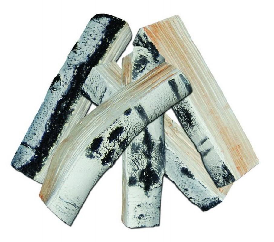 Keramické březové dřevo velké