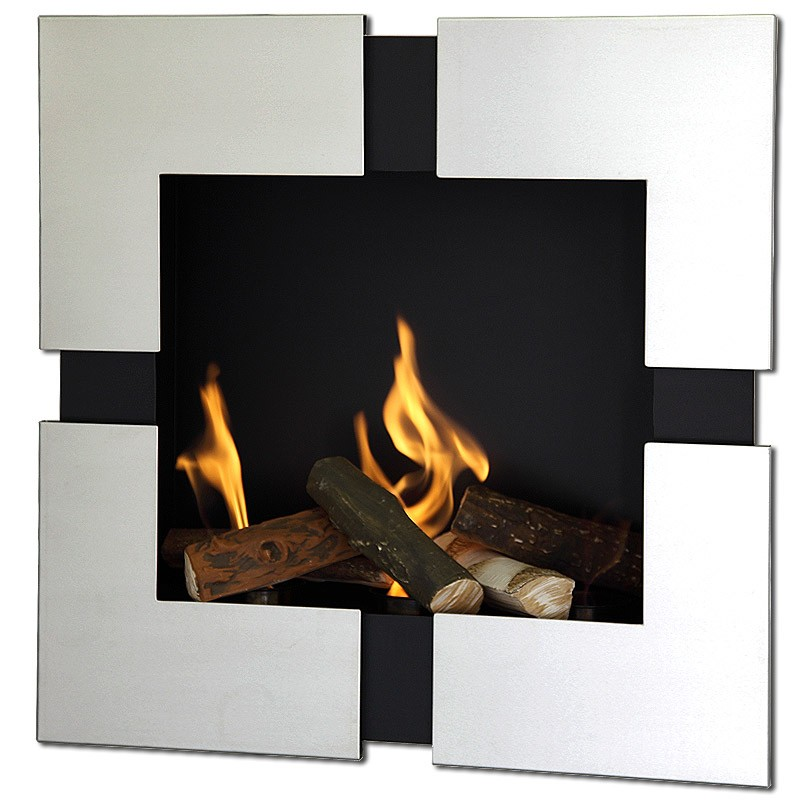 Wall hanging Bio fireplaces without chimney AF-08C