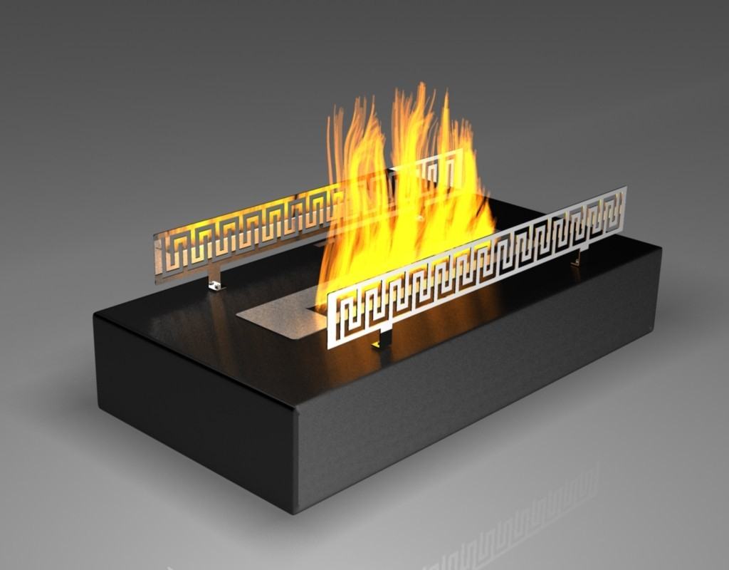 Fireplace without chimney BIO-04B