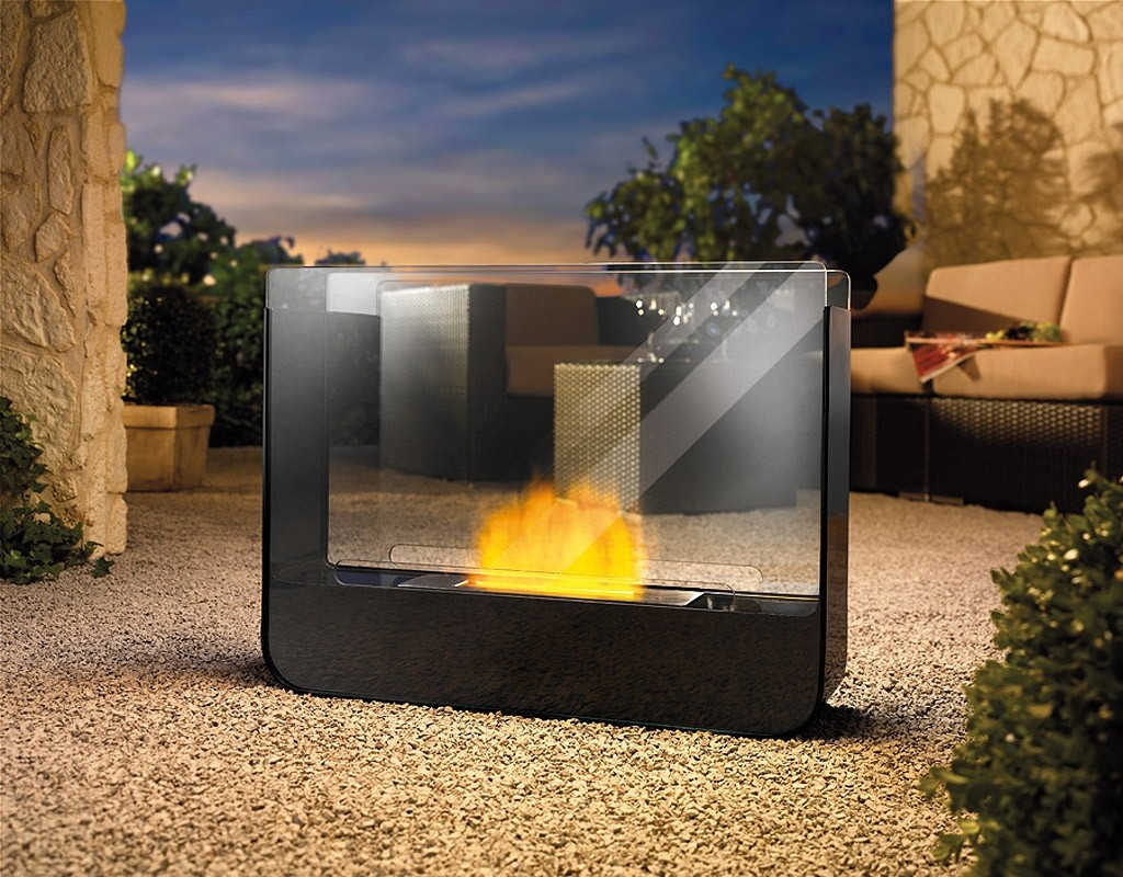 Fireplace without chimney BIO-07B