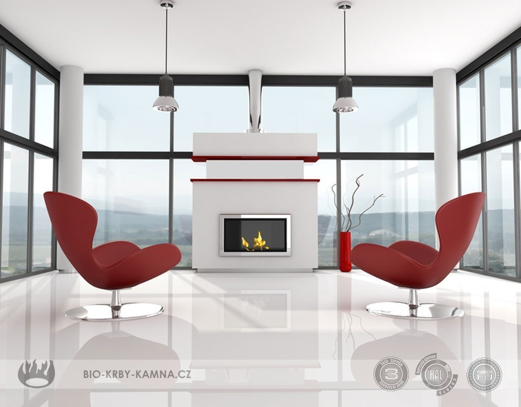 Fireplace without chimney AF-23
