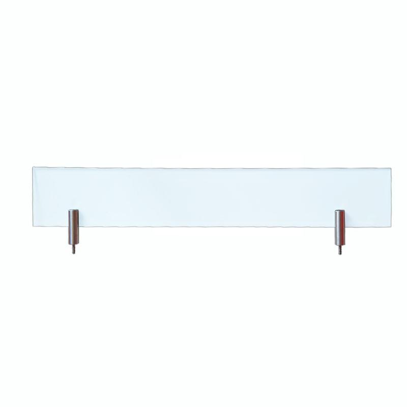 Echtglas klar 430x70