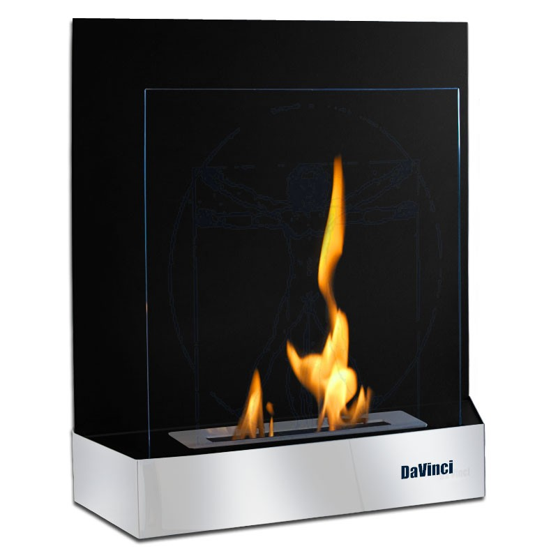 Fireplaces without chimney on bio alcohol without chimney DaVinci