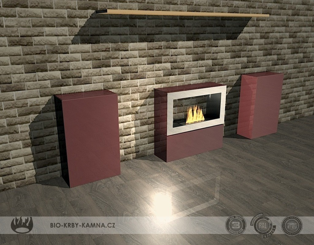 Fireplace without chimney AF-25