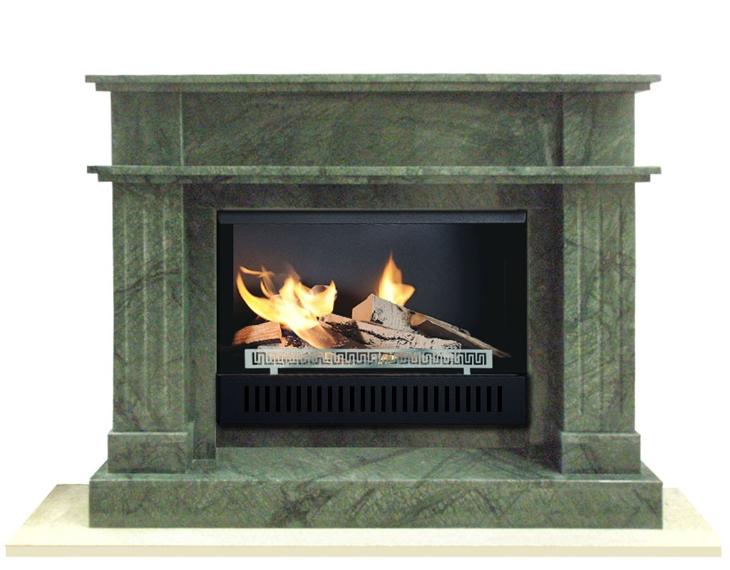 STONE-02 fireplaces without chimney